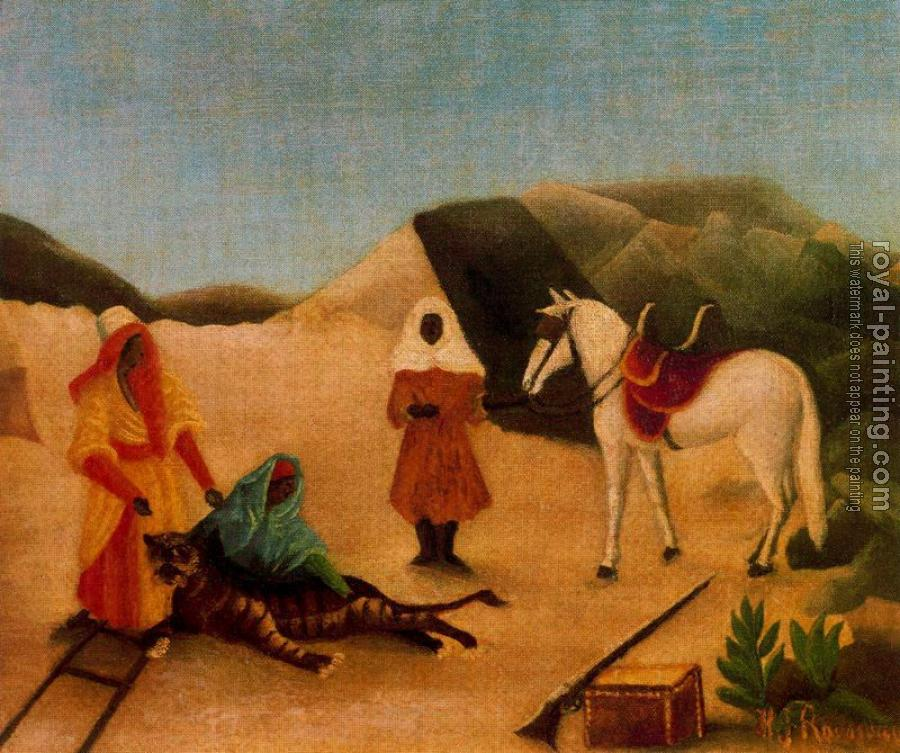 Henri Rousseau : The Tiger Hunt