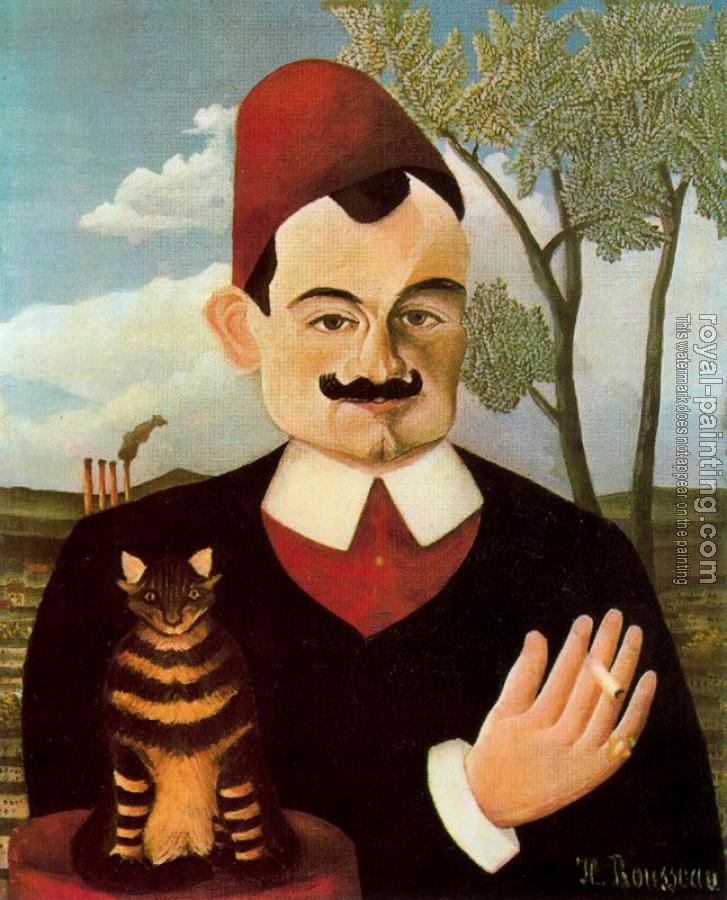 Henri Rousseau : Portrait of Pierre Loti