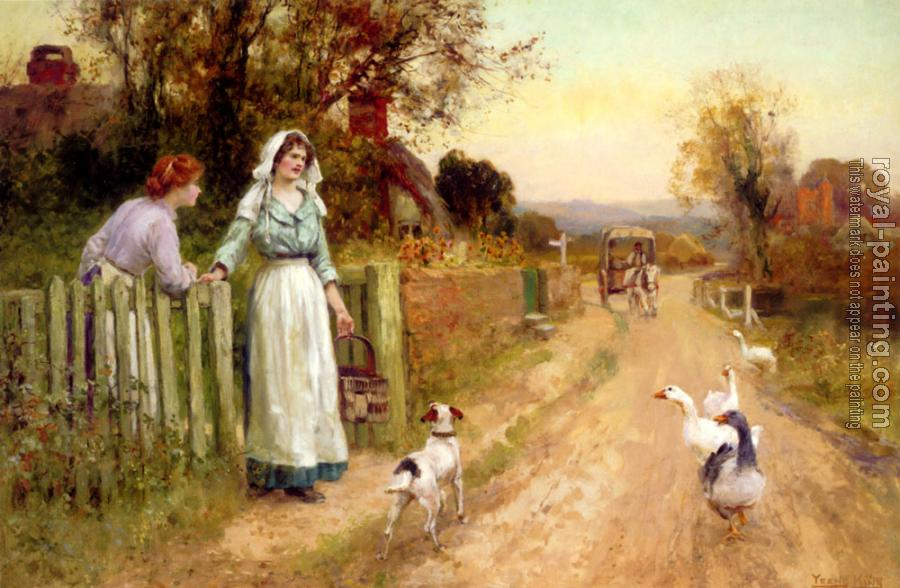 Henry John Yeend King : Market Day