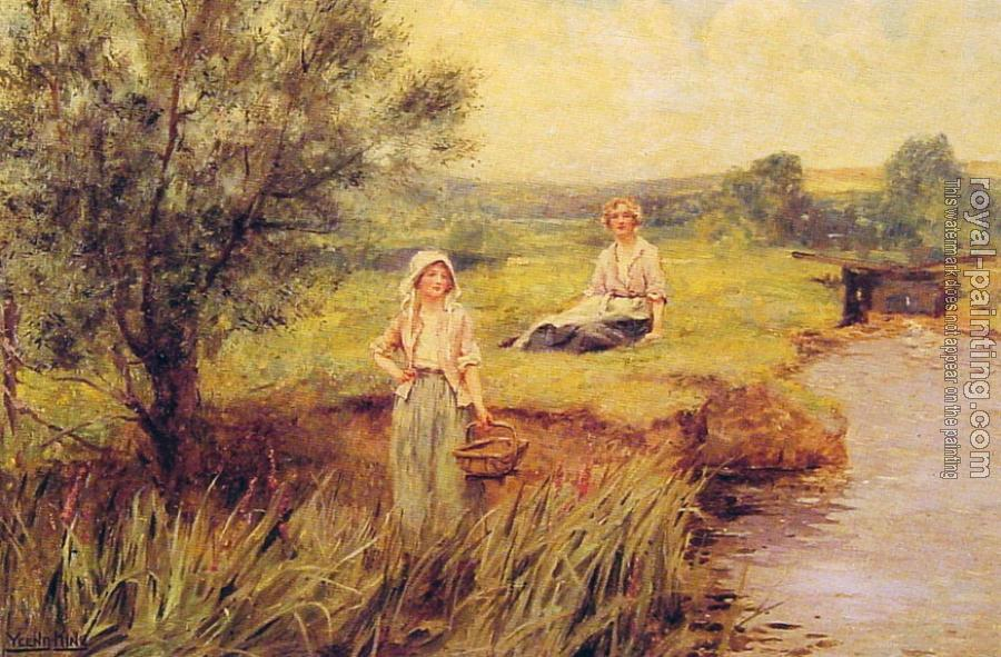 Henry John Yeend King : The Rush Gatherers