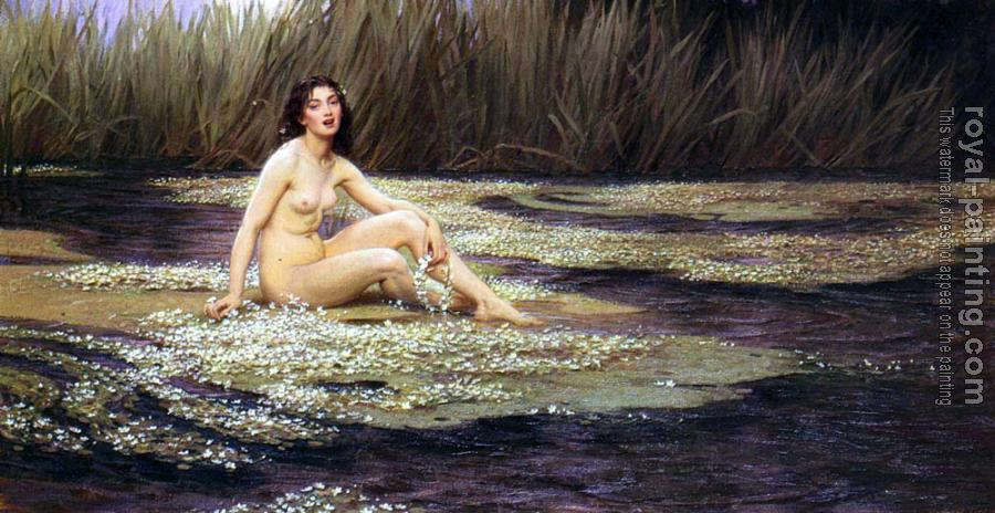 Herbert James Draper : The Water Nymph