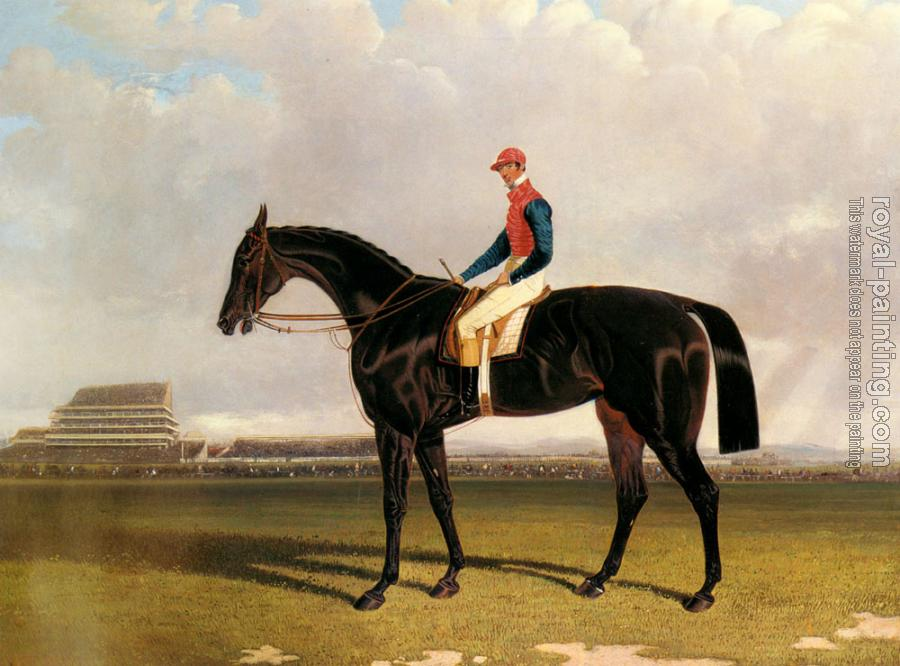 John Frederick Jr Herring : Lord Chesterfield's Industry with William Scott up at Epsom