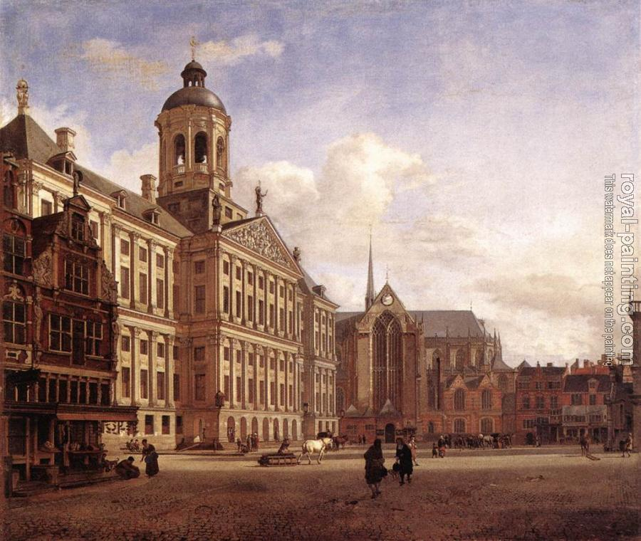 Jan Van Der Heyden : The New Town Hall in Amsterdam