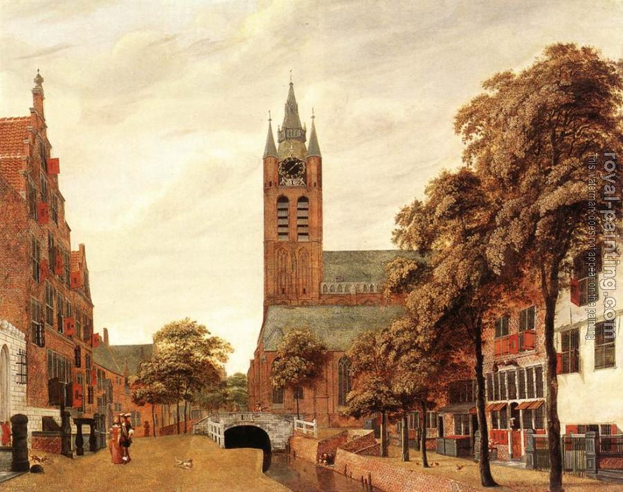 Jan Van Der Heyden : View of Delft