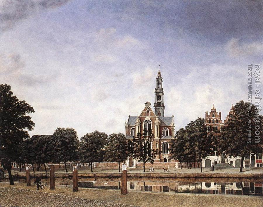 Jan Van Der Heyden : View of the Westerkerk, Amsterdam