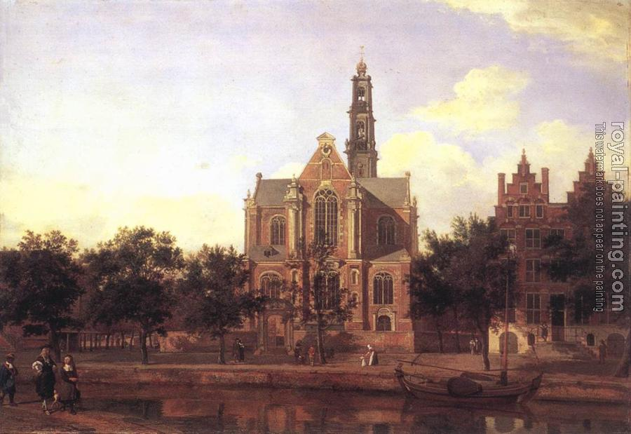 Jan Van Der Heyden : View of the Westerkerk, Amsterdam II