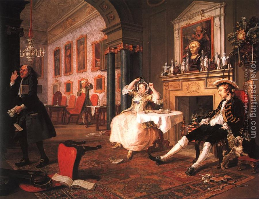 William Hogarth : Marriage a la Mode