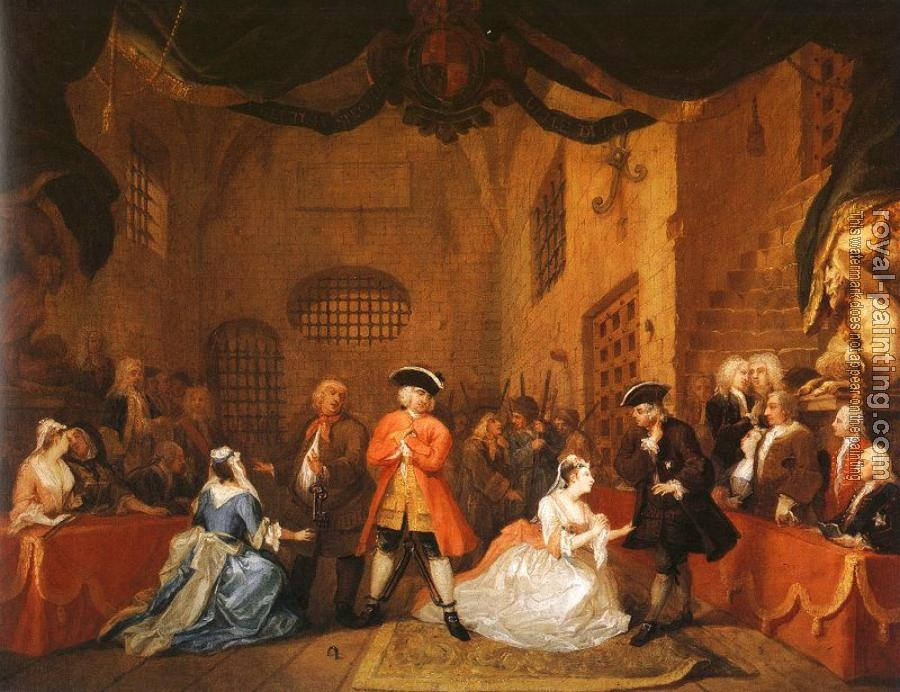William Hogarth : The Beggars Opera