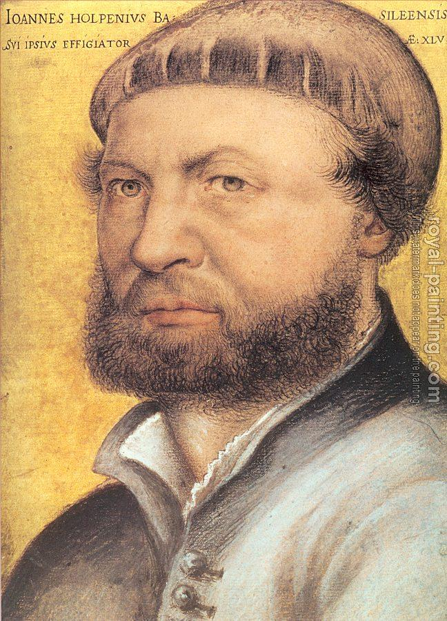 Hans The Younger Holbein : self portrait