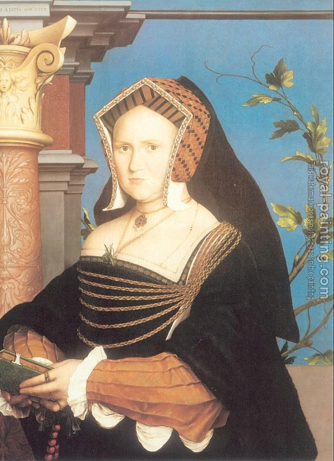 Hans The Younger Holbein : Portrait of Lady Mary Guildford II