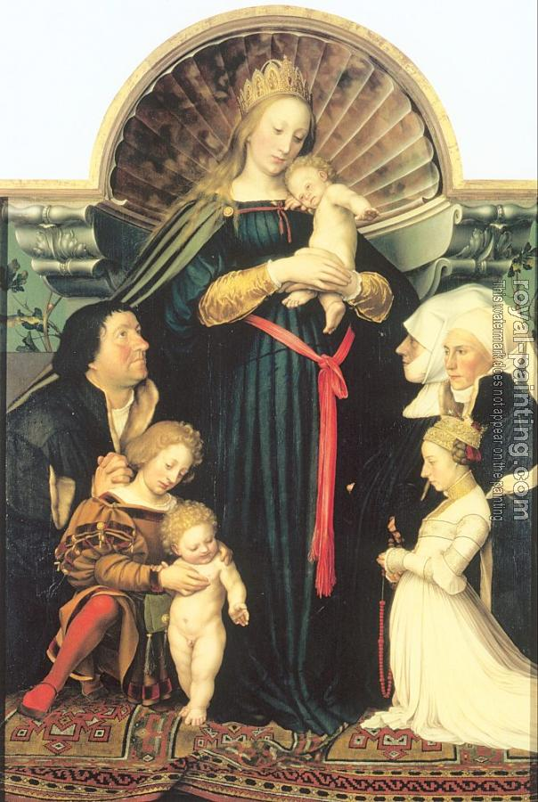 Hans The Younger Holbein : The Meyer Madonna