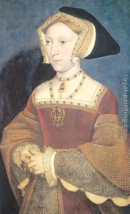 Hans The Younger Holbein : Portrait of Jane Seymour