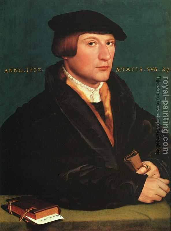 Hans The Younger Holbein : Portrait of a Member of the Wedigh Family II