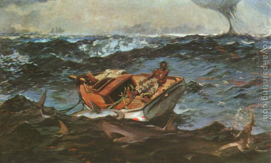 Winslow Homer : The Gulf Stream