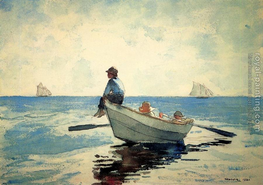 Winslow Homer : Boys in a Dory II