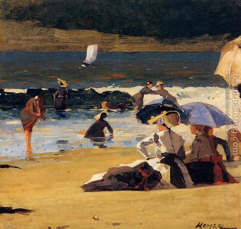 Winslow Homer : By the Shore