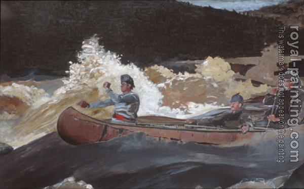 Winslow Homer : Shooting The Rapids