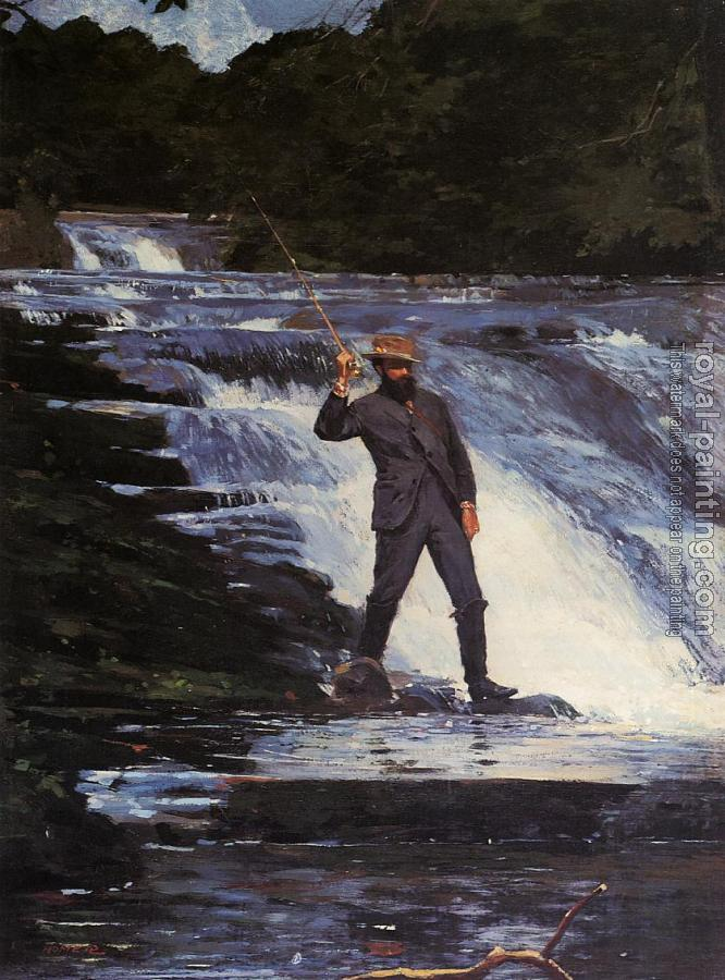 Winslow Homer : The Angler