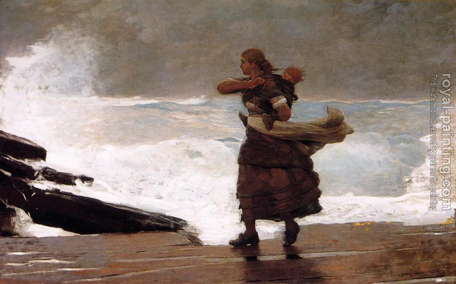 Winslow Homer : The Gale