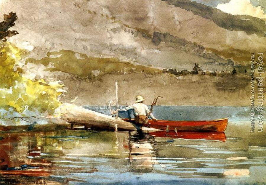 Winslow Homer : The Red Canoe