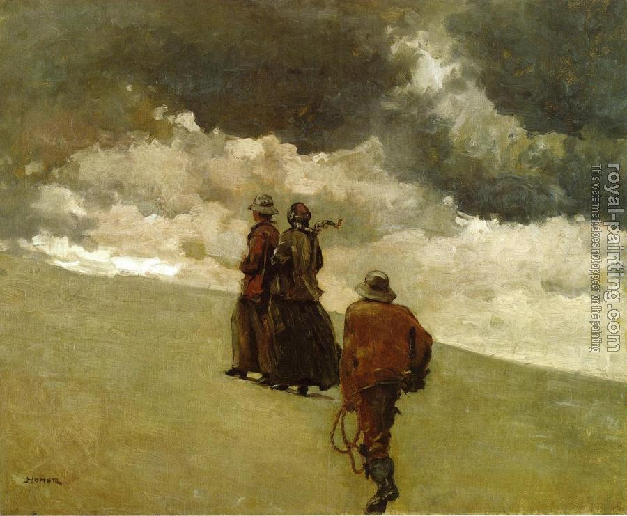 Winslow Homer : To the Rescue