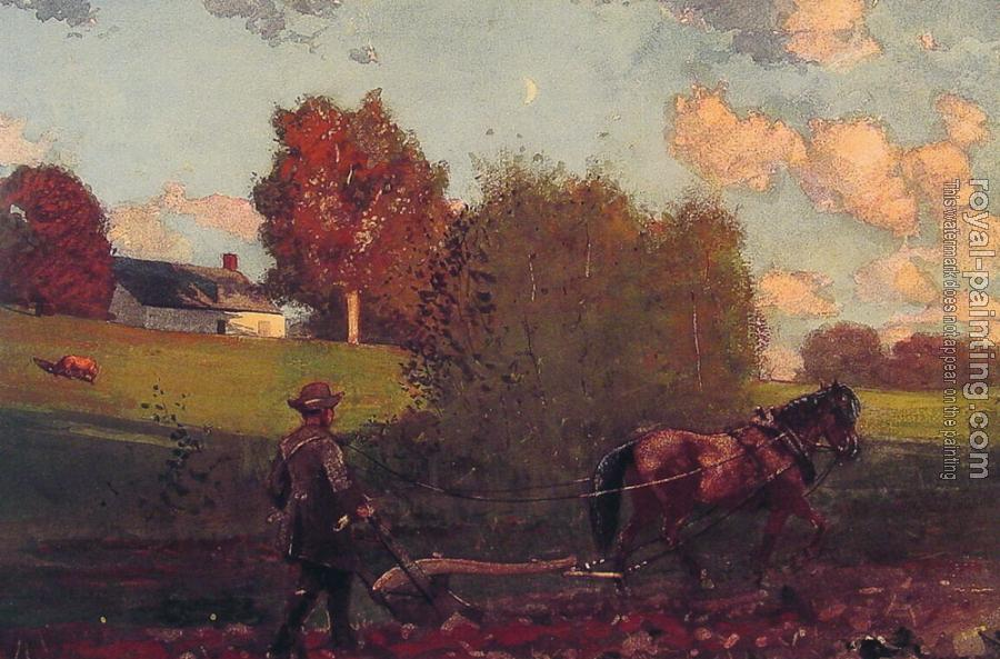 Winslow Homer : The Last Furrow II