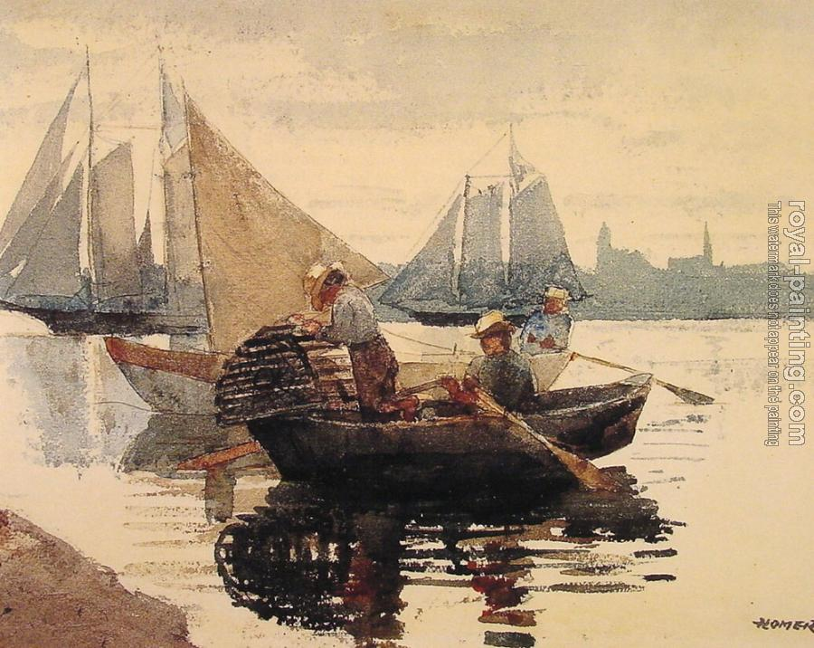 Winslow Homer : The Lobster Pot