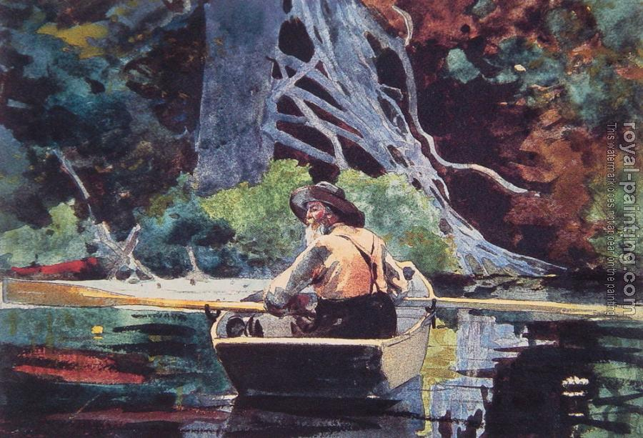Winslow Homer : The Red Canoe II