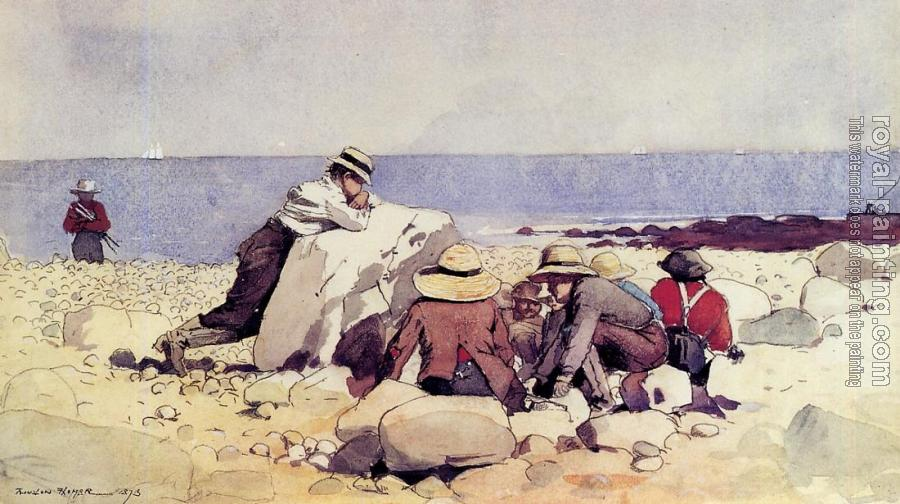 Winslow Homer : A Clam Bake