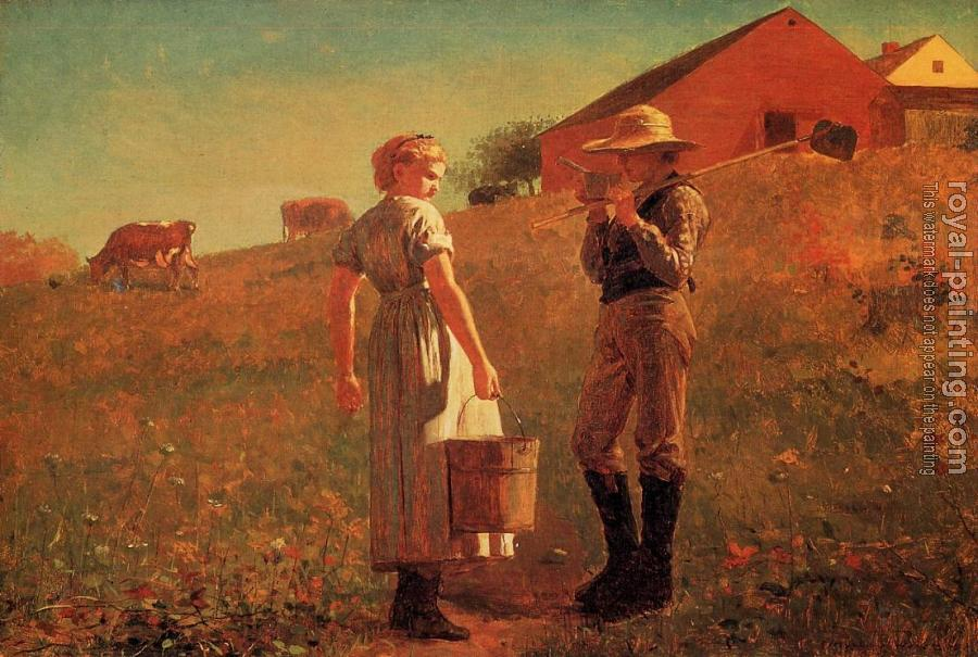 Winslow Homer : A Temperance Meeting