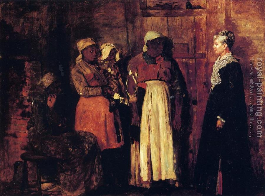 Winslow Homer : A Visit from the Old Mistress