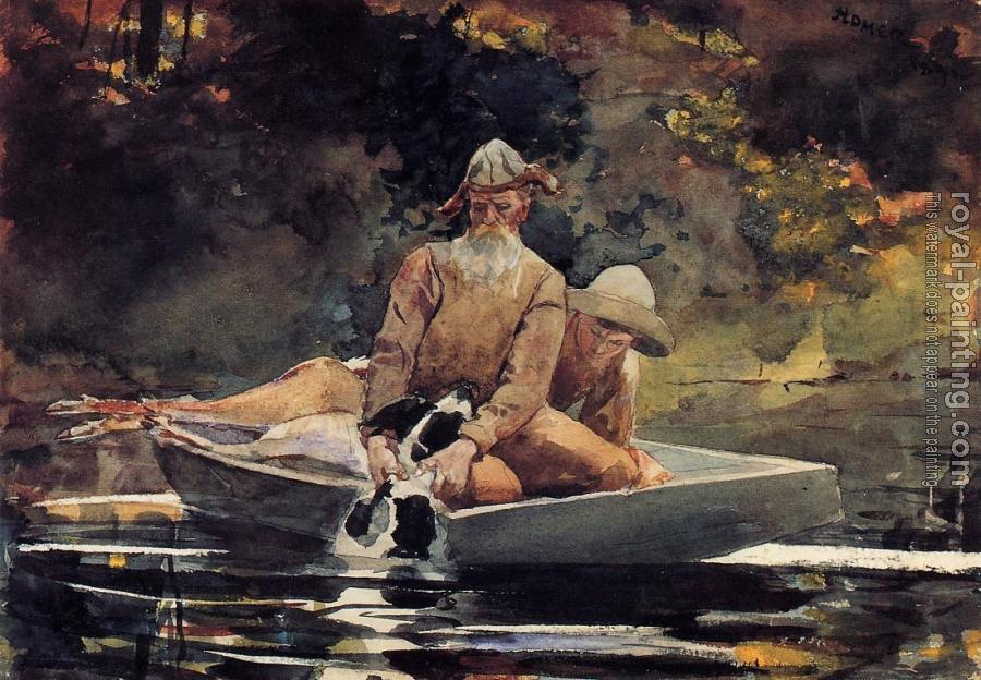 Winslow Homer : After the Hunt