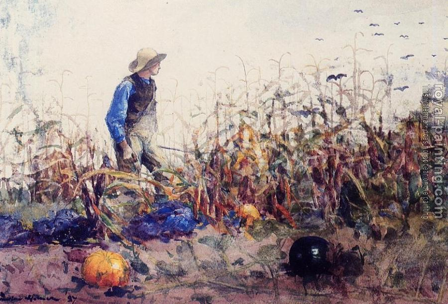 Winslow Homer : Among the Vegetables