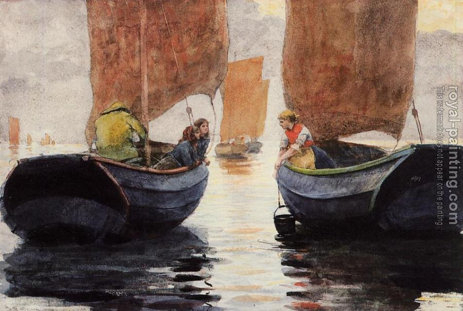 Winslow Homer : An Afterglow