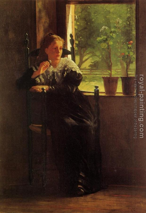 Winslow Homer : At the Window