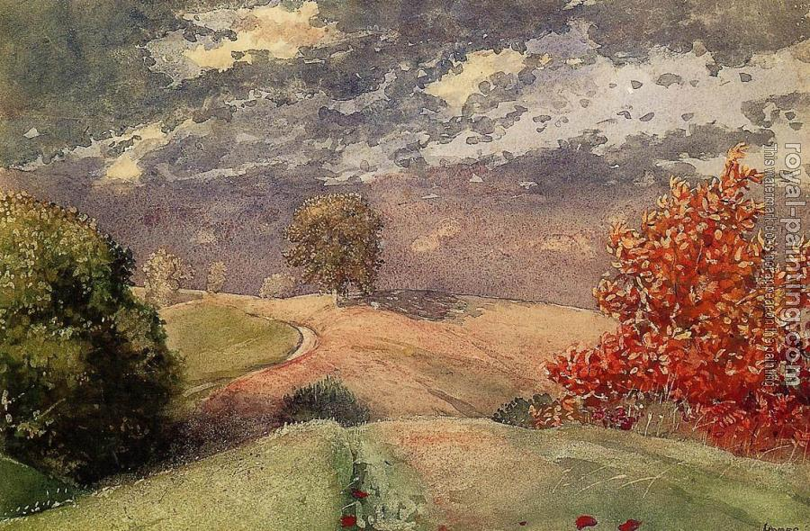 Winslow Homer : Autumn, Mountainville, New York