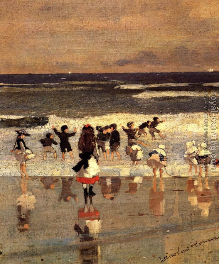 Winslow Homer : Beach Scene