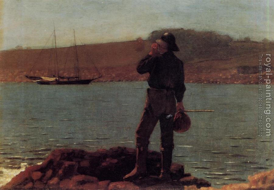 Winslow Homer : Calling the Pilot