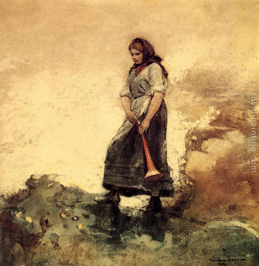 Winslow Homer : Daughter of the Coast Guard II