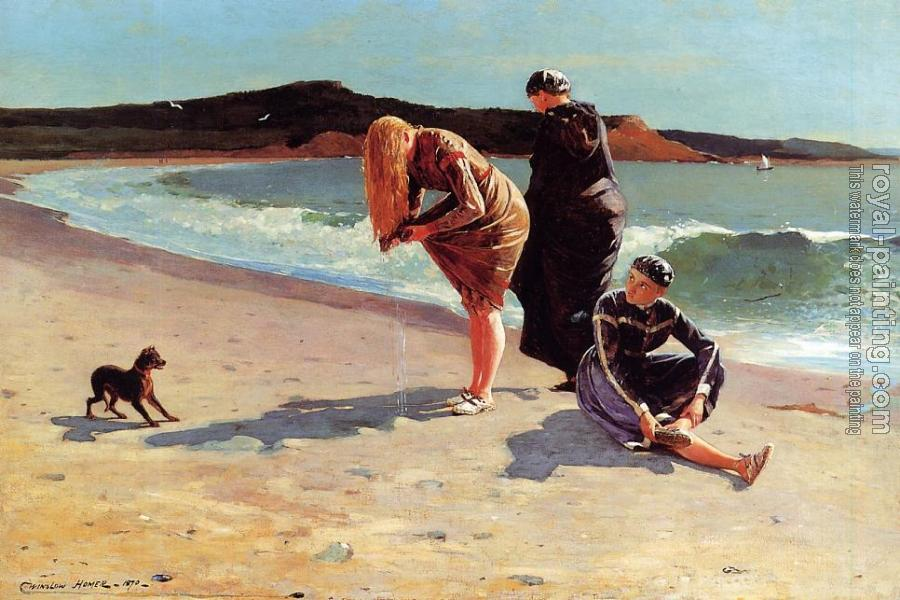 Winslow Homer : Eagle Head, Manchester, Massachusetts