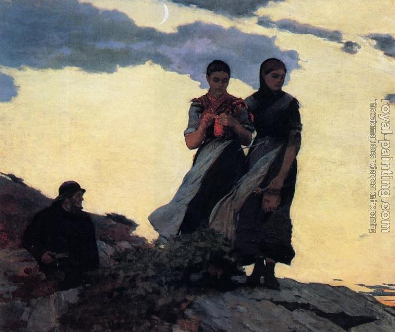 Winslow Homer : Early Evening