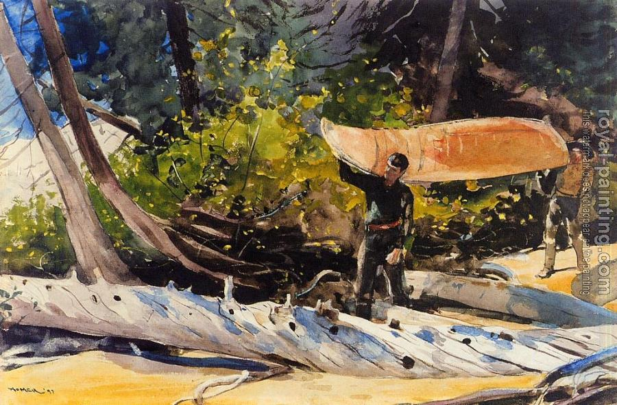 Winslow Homer : End of the Portage