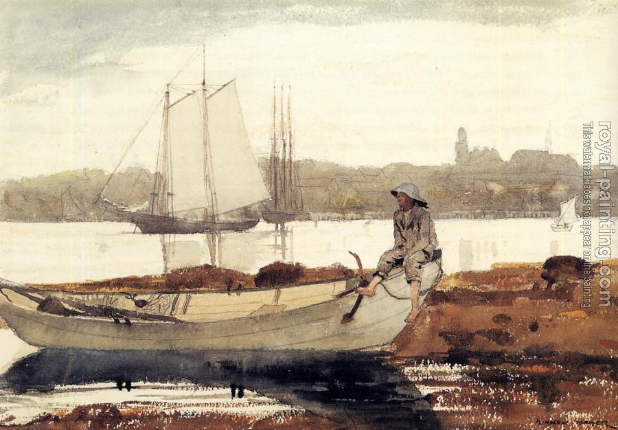 Winslow Homer : Gloucester Harbor and Dory II