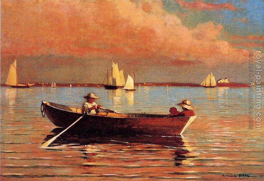 Winslow Homer : Gloucester Harbor II