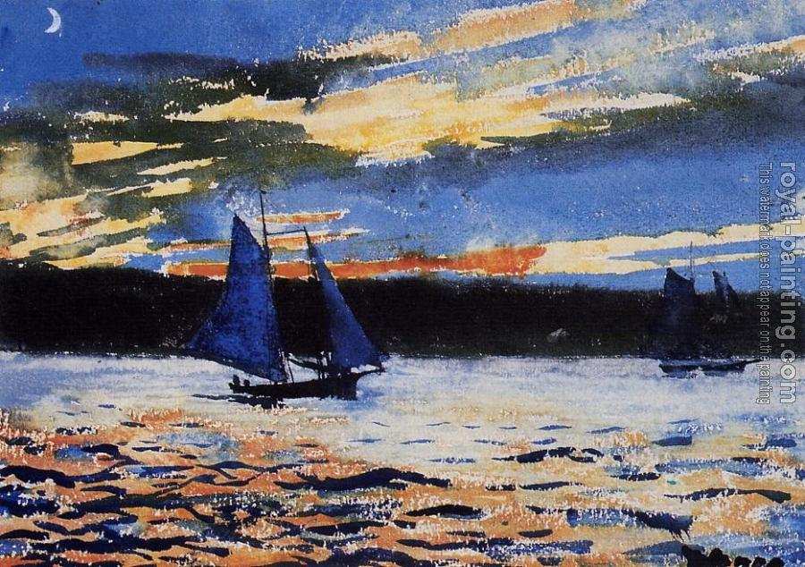 Winslow Homer : Gloucester Sunset