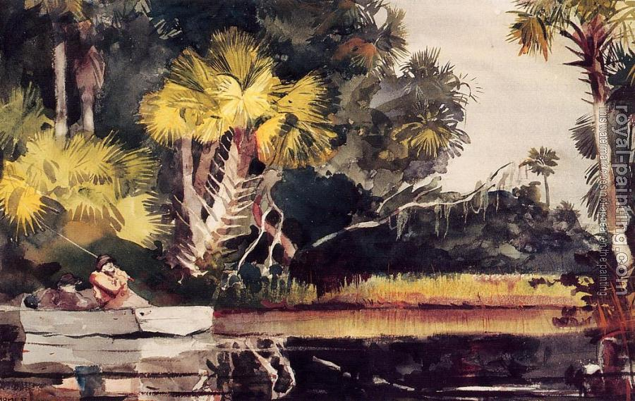 Winslow Homer : Homosassa Jungle