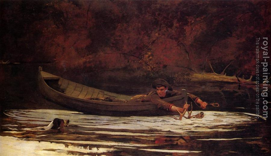 Winslow Homer : Hound and Hunter II