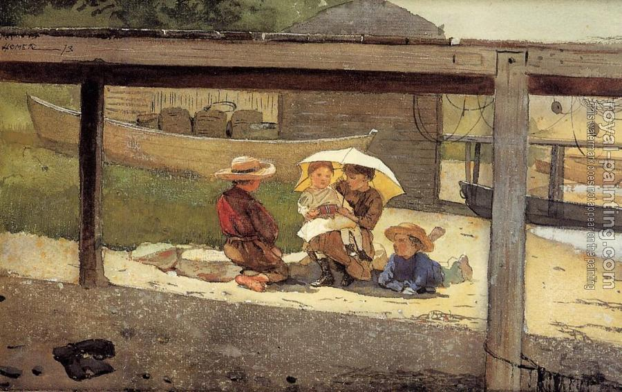 Winslow Homer : In Charge of Baby II