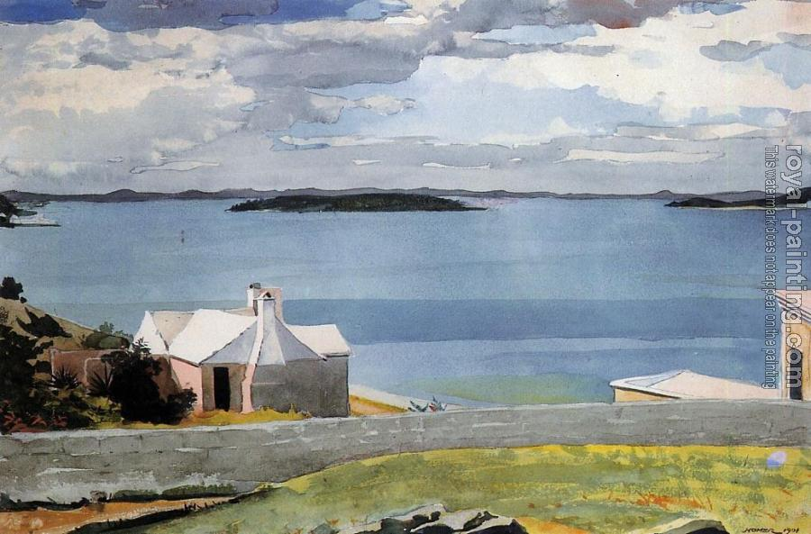 Winslow Homer : Inland Water, Bermuda