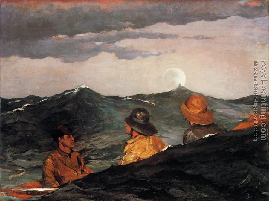 Winslow Homer : Kissing the Moon II